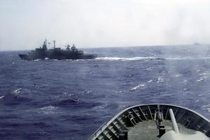 Φρεγάτες και πυραυλάκατοι του στόλου βρίσκονται στο Αιγαίο
