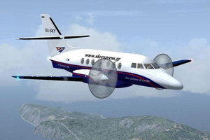 Αεροσκάφος χτυπήθηκε από ριπή ανέμου