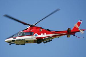 Ελικόπτερο του ΕΚΑΒ πετά προς Νάξο