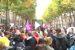 Τρία εκατομμύρια Γάλλοι στους δρόμους