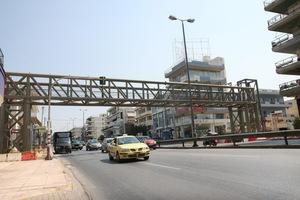 «Εχθρός» της πεζογέφυρας στο Μαρούσι ο καιρός