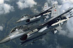 Τουρκικά F-16 πέταξαν πάνω από την Κίναρο