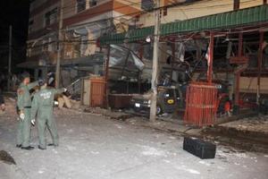 Έκρηξη βόμβας σε συγκρότημα κατοικιών