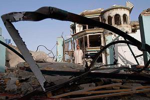 Έκρηξη βόμβας μέσα σε τζαμί στο Αφγανιστάν