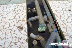 Αποκρουστικές οι λίμνες στο ΟΑΚΑ