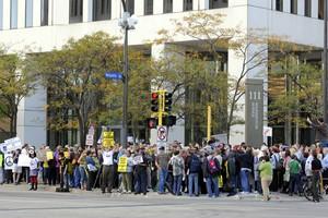 Διαδηλώσεις για τα εργασιακά στις ΗΠΑ