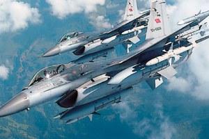 Τουρκικά μαχητικά πάνω από το Καστελόριζο