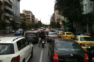 Κυκλοφοριακό κομφούζιο στο κέντρο