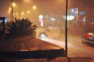 Προβλήματα από τη βροχή και στη Μακεδονία