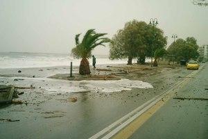 Τεράστιες ζημιές από την κακοκαιρία στη Λακωνία