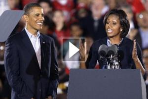 Δυναμική προεκλογική εμφάνιση των Ομπάμα στο Οχάιο