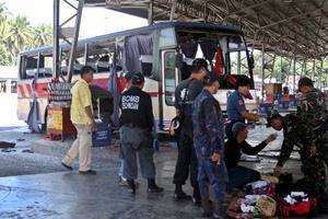 7 νεκροί από έκρηξη βόμβας σε λεωφορείο στις Φιλιππίνες