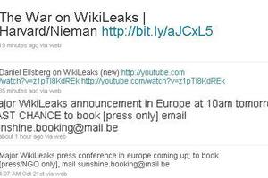 Ο ιστότοπος Wikileaks «ξαναχτυπά»