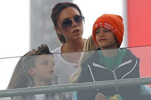 Οικογενειακές στιγμές για τους Beckham