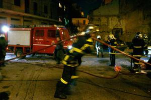 Πυρκαγιά σε υπόγειο στη Θεσσαλονίκη