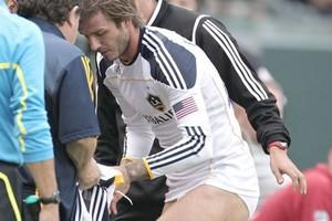 Το στριπτίζ του David Beckham