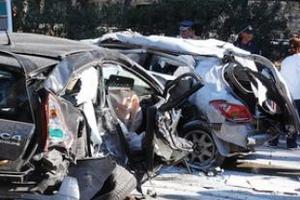 Τροχαίο με δύο τραυματίες στη Γαστούνη