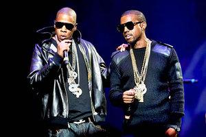 Kanye West  και Jay-z μαζί