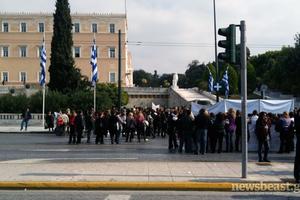 Σε δύο ώρες οι Έλληνες διαμαρτύρονται… αλά ισπανικά