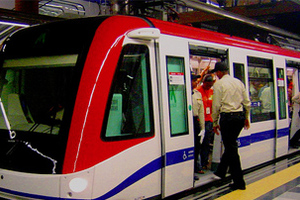 Πλακατζής ο οδηγός του μετρό