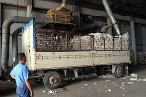 Μειωμένη η ζήτηση του εκκοκκισμένου βάμβακος