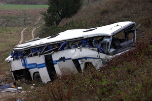 Δύο έφηβοι νεκροί στο τροχαίο με το ΚΤΕΛ στην Αλβανία
