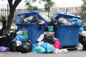 Χωρίς αποκομιδή σκουπιδιών το Σαββατοκύριακο