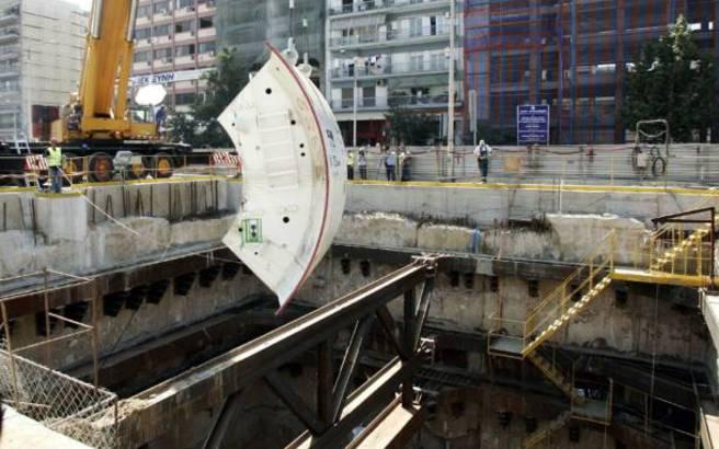 Επίθεση με μολότοφ σε εργοτάξιο του μετρό στη Θεσσαλονίκη