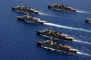 Πέρασμα κλιμακίου από τη Γαλλία στο Πολεμικό Ναυτικό