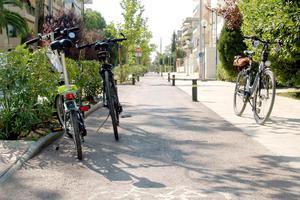 Ποδήλατα στις... ράγες