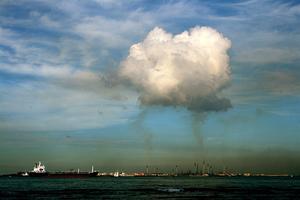 Ρεκόρ ατμοσφαιρικής μόλυνσης στη Σιγκαπούρη