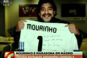 Το δώρο του Μουρίνιο στο Μαραντόνα