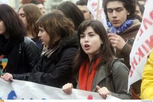 Πορεία μαθητών στην Πάτρα
