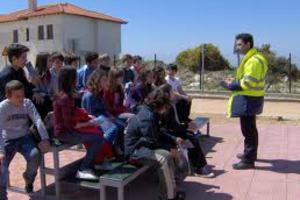 Μαθήματα κυκλοφοριακής αγωγής σε παιδιά