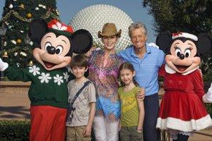 Ο Μάικλ Ντάγκλας στη Disney World