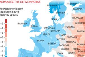 Χειμώνας στην Ευρώπη, καλοκαίρι στην Ελλάδα