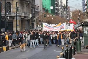 Ολοκληρώθηκε η πορεία φοιτητών-μαθητών