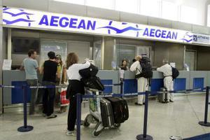 Προβλήματα και στις πτήσεις της Aegean