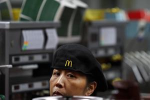 Τα McDonald's στην Κίνα γιορτάζουν