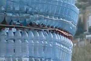 «Θερμοκήπιο» από πλαστικά μπουκάλια