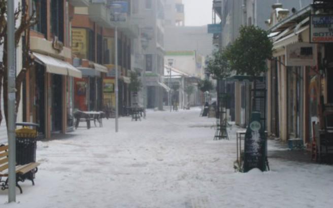 Προβλήματα από τη χιονόπτωση στην Ξάνθη