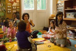 Τα παιδιά ταξιδεύουν στις πέντε αισθήσεις