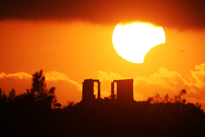 Μερική έκλειψη Ηλίου στις 4 Ιανουαρίου