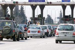 Ουρές αυτοκινήτων στα διόδια Μαλγάρων