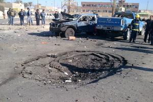 Έκρηξη παγιδευμένου αυτοκινήτου σε στρατιωτική μονάδα