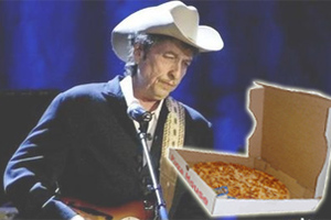 Παρήγγειλε 178 πίτσες χρησιμοποιώντας το όνομα του Bob Dylan!