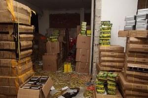 Χιλιάδες προϊόντα «μαϊμού» σε αποθήκες του κέντρου