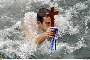 Σε συνθήκες παγετού ο αγιασμός των υδάτων στην Δυτική Μακεδονία