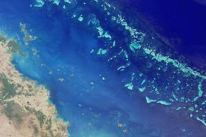 «Βουτιά» στο Μεγάλο Κοραλλιογενή Ύφαλο από τα 35.000 πόδια