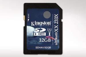 Kingston UHS-I UltimateXX 233X